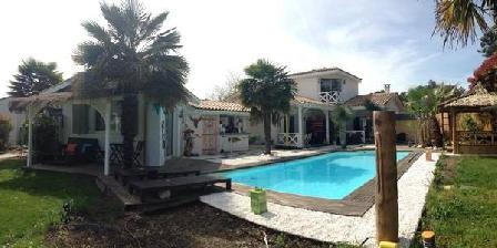 Villa Caraibes Villa Caraibes, Chambres d`Hôtes Gujan Mestras (33)
