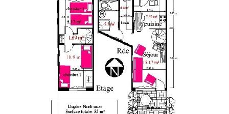 Bed and breakfast Norkiouse Duplex > Norkiouse Duplex, Chambres d`Hôtes Rezé (44)
