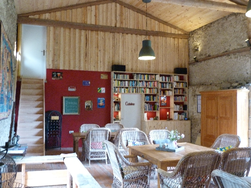bed & breakfast Haute-Loire - Livingroom/diningroom