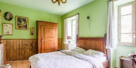 La Fougeraie La chambre Verte avec lit double