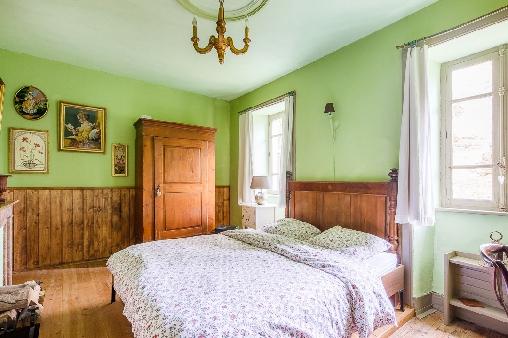 Chambre d'hote Haute-Loire - La chambre Verte avec lit double