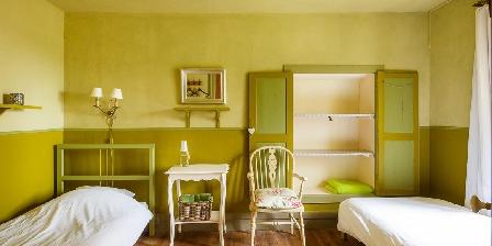 La Fougeraie Chambre Olive avec 2 lits