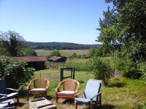Chambre d'hote Dordogne - La Maison Bleue, Chambres d`Hôtes La Gonterie Boulouneix (24)