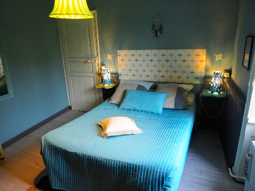 bed & breakfast Manche - The Brigand, cosy room with vue on the garden