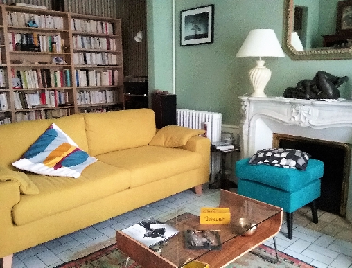 bed & breakfast Manche - Living and reading room to be quiet