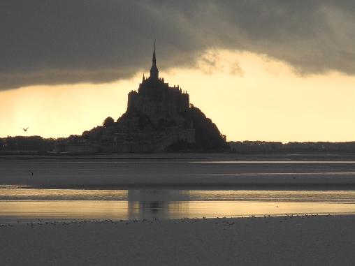 Le Mont Saint-Michel, patrimoine mondial de l'Unesco