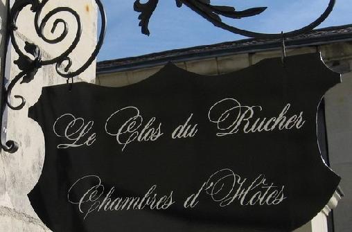 Le Clos du Rucher, Chambres d`Hôtes Chace (49)