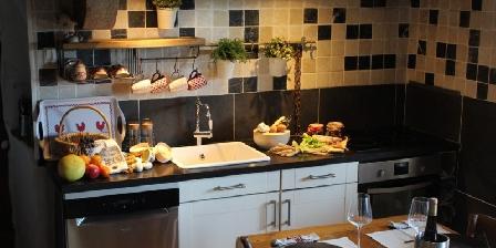 Le Vallon des Etoiles Vallon des Etoiles- La Grange-cuisine