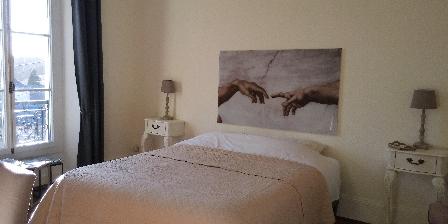 La Buissonniere Azay-le-rideay Chambre lit 160x200