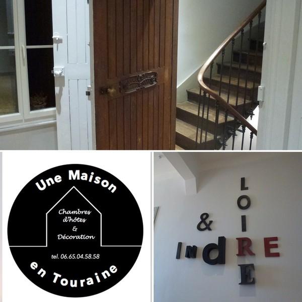 Une Maison En Touraine - Chambre D\'hotes & Décoration : Une chambre ...