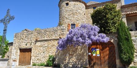 Château de Bessas L'arrivée au Château