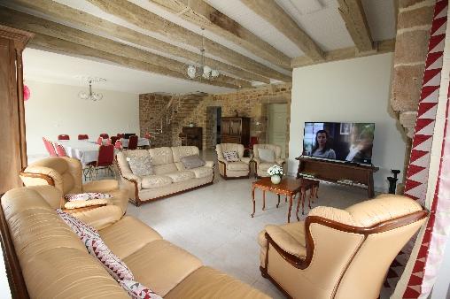Chambre d'hote Dordogne - Salon