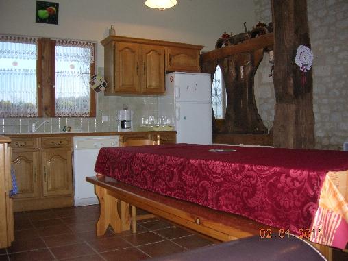 Chambre d'hote Dordogne - la cuisine Le Garry I