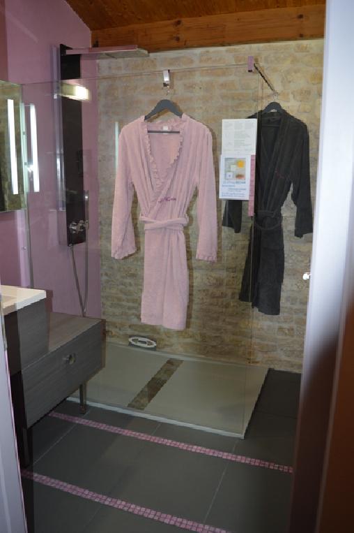 bed & breakfast Charente-Maritime - Salle d'eau de Tourterelle