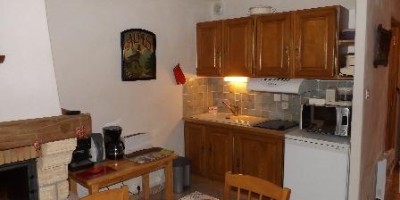 Le Chalet d'Amont The kitchen