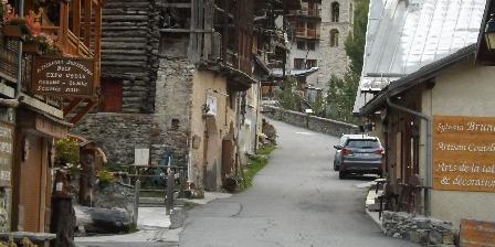 Le Chalet d'Amont The village of Saint Veran