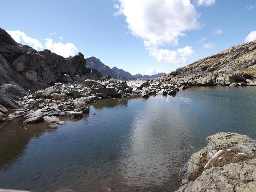 lac de haute montagne