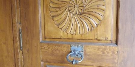 Le Chalet d'Amont Main entrance