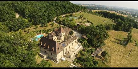 Le Petit Gîte du Château de Missandre Missandre vu du ciel