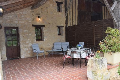 bed & breakfast Lot-et-Garonne - The terrace