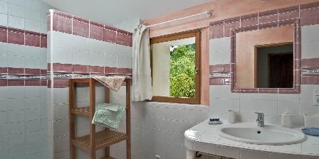 Le Mas de La Citadelle - Gîte Les Marronniers La salle de bains