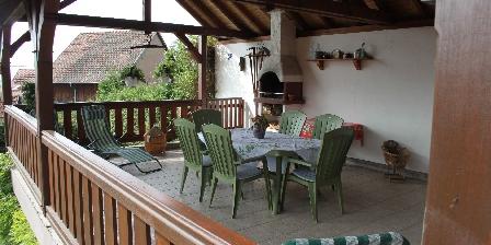 La Maison de Vacances Hild La terrasse