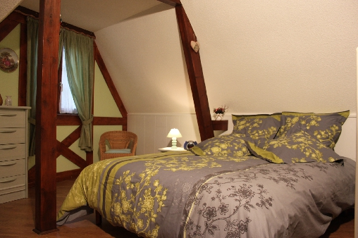 Chambre d'hote Bas-Rhin - La chambre avec lit de 160