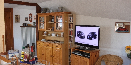 La Maison de Vacances Hild Coin télévision
