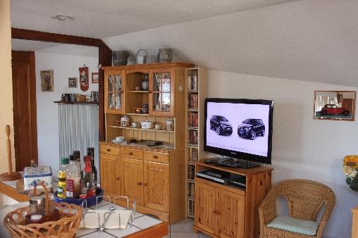 Chambre d'hote Bas-Rhin - Coin télévision
