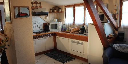 La Maison de Vacances Hild La cuisine