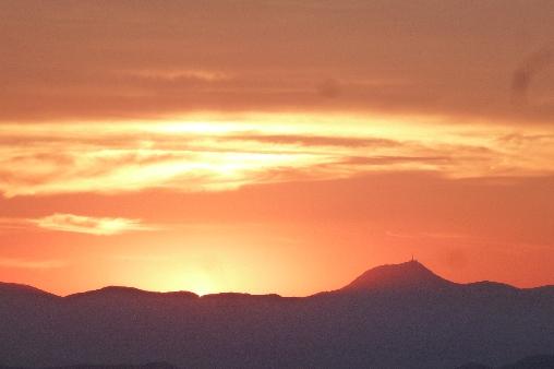bed & breakfast Puy-de-Dôme - Sunset