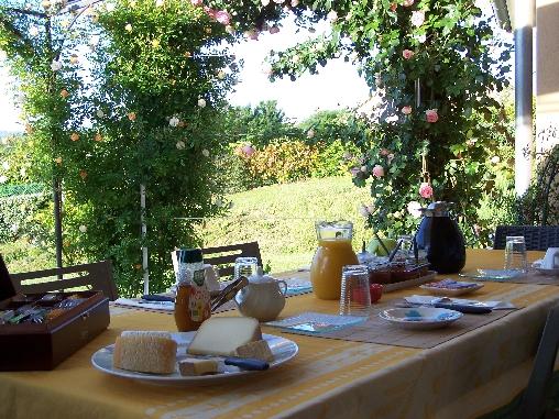Chambre d'hote Ariège - Petit déjeuner Chambres d'hôtes