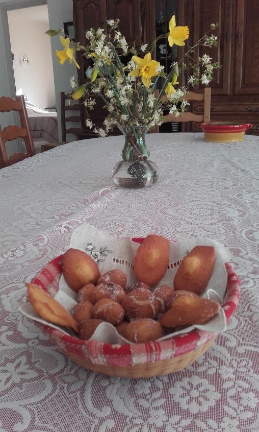 Madeleines au citron et au miel Chambres d'Hôtes