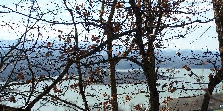 Aux 4 Saisons Lac de Montbel en hiver