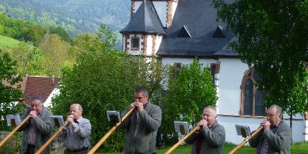 Au Fil de La Fecht Joueurs de cors des Alpes