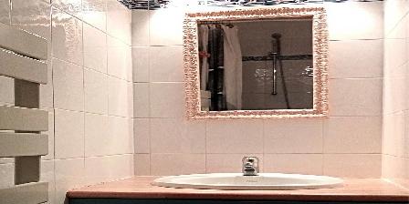 Les Gites du Pic du Comte - L' Ecurie Shower room