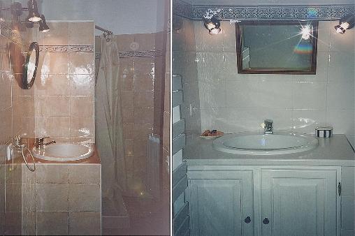 Les salles d'eau