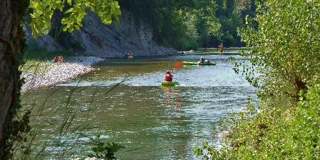 Gîte de Planchetieu Canoe sur la drome