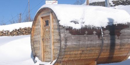Chalet du Bazet Sauna et neige
