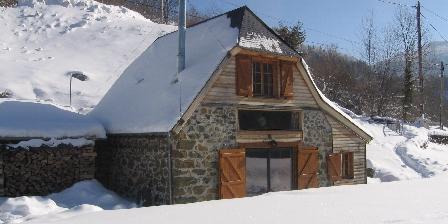 Chalet du Bazet Chalet et neige