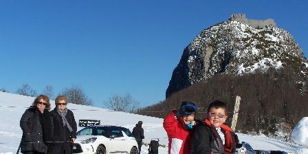 Aux 4 Saisons A family in Montségur, pleasure of the snow