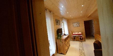 Chambre d'hotes Chambres et Table d'Hôtes Chalet du Seu > chambre familiale chamois