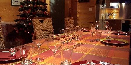 Chambres et Table d'Hôtes Chalet du Seu Table d'hôtes au chalet du seu