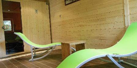 Chambres et Table d'Hôtes Chalet du Seu Espace sauna au chalet du seu