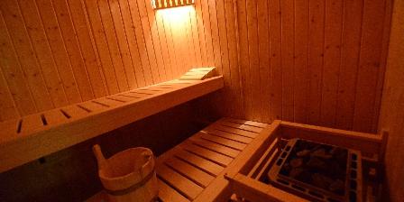 Chambre d'hotes Chambres et Table d'Hôtes Chalet du Seu > sauna au chalet du seu