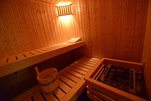 sauna au chalet du seu