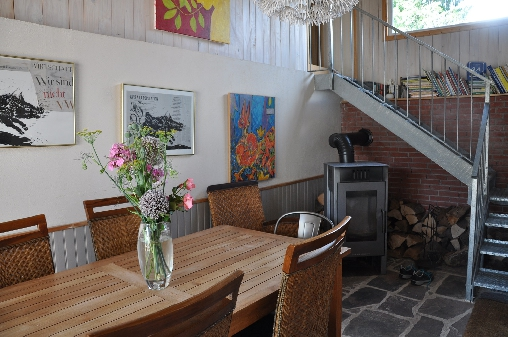 Chambre d'hote Haut-Rhin - La salle à manger