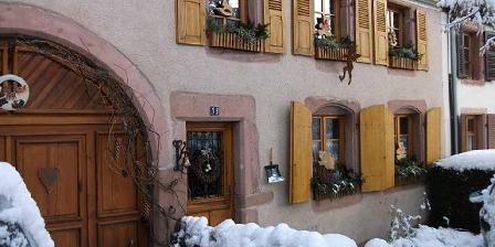 Gîte Les Hirondelles L'hiver en Alsace
