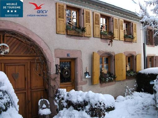 L'hiver en Alsace