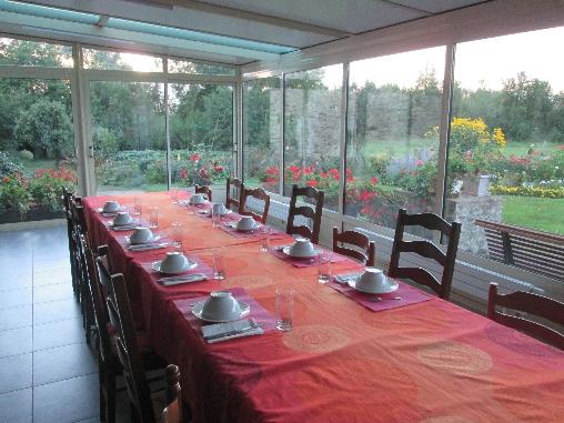 Chambre d'hote Vendée - salle de petit déjeuner